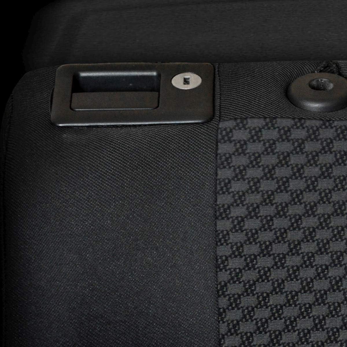 E3 cucito su misura - Set coprisedili auto ELEGANCE