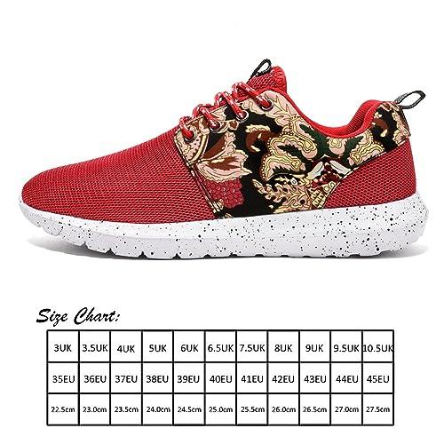 J&T Zapatos Deportivos Hombre Mujer Aire Libre y Deportes Zapatillas de Running Padel Para Zapatos Para