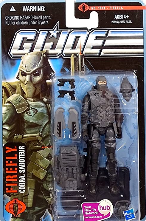 G.I. Joe Pursuit of Cobra 3 3/4 Inch Action Figure City Strike ...