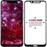 Magic Tempered Glass for Nokia 8.1 Tempered Glass Screen Protector 2.5D Curved Pack of 1 Nokia 8.1 Screen Protector by Magic