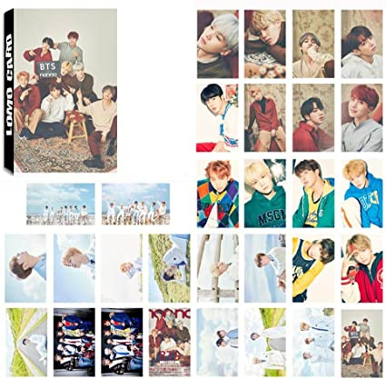 Pack de 30 fotografías BTS Bellene, tarjetas, postales, póster ...