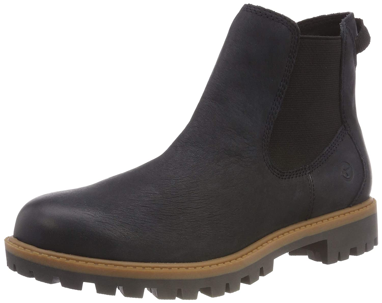 Tamaris Damen Stiefel 25401-21 Chelsea Stiefel Damen Blau (Navy 805) 29550e
