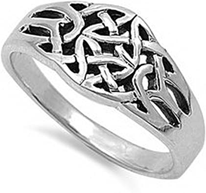 Diamond Cut Jewelry Gift for Men or Women Glitzs Jewels 925 Sterling Silver Wedding Band Ring