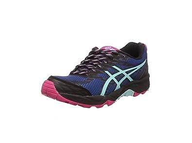 Asics Gel-Fujitrabuco 5, Damen Traillaufschuhe, Mehrfarbig (Poseidon/Aruba  Blue/
