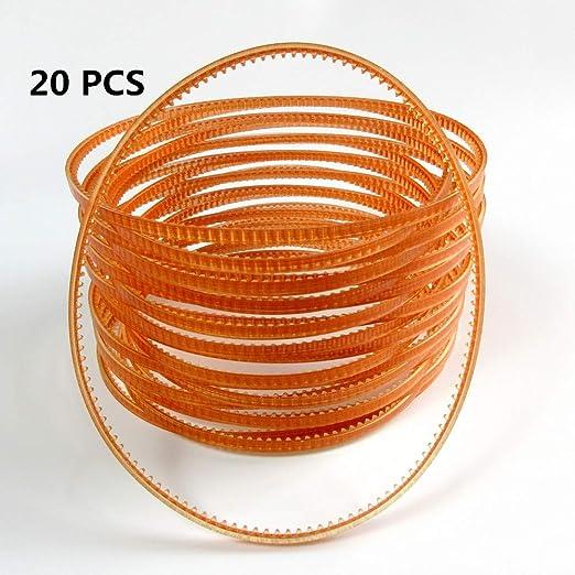 Correa de transmisión de motor para máquina de coser Mb510 para Singer Janome Brother Juki Qty :20 PCS: Amazon.es: Hogar