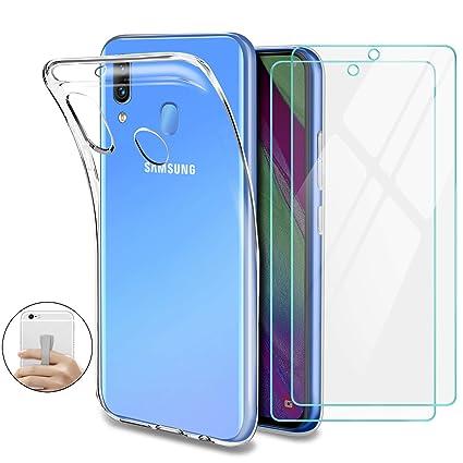 coque silicone transparent samsung a40