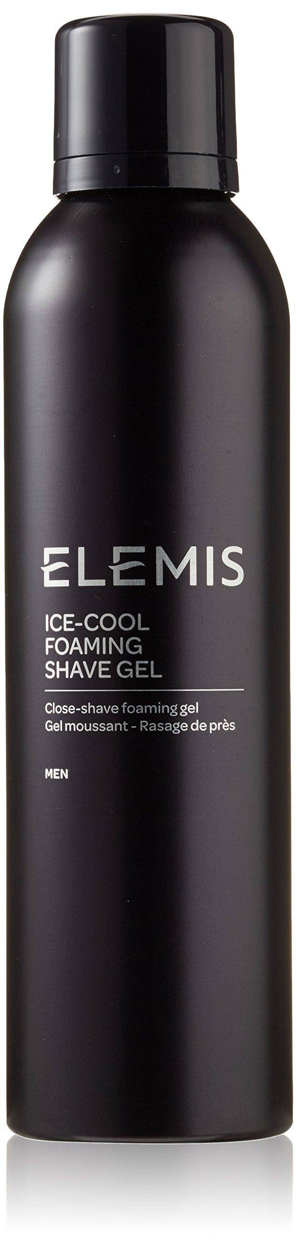 ELEMIS Ice Cool Foaming Shave Gel, Close-shave Foaming Gel for Men, 6.7 fl. oz