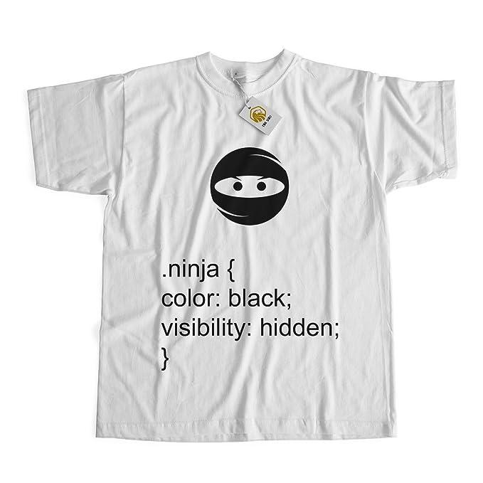 HTML Tshirt Geek Shirt Ninja T-Shirt Hidden Ninja Tshirt ...