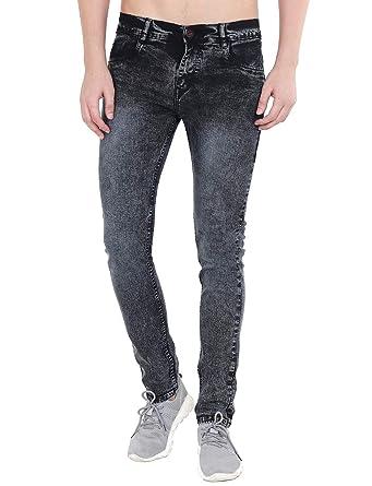 Hill Turner Slim Men Grey Jeans