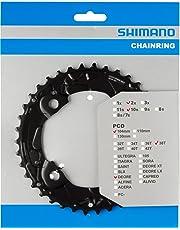 Shimano 1P098010 - Plato M615 Doble 10V., 38D 38/24