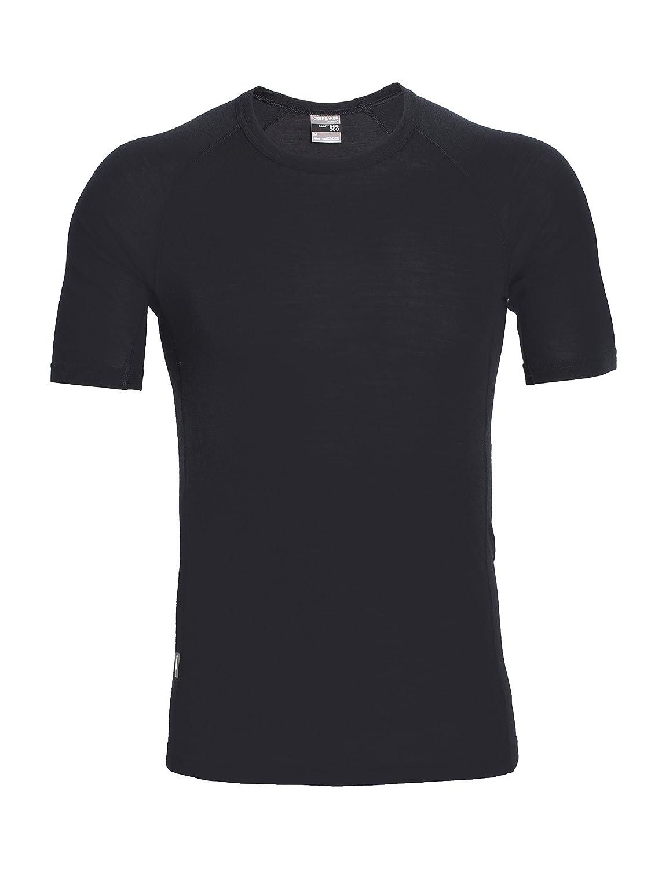 Icebreaker Men's Everyday Short Sleeve Crewe Neck T-Shirt Black Large 104482