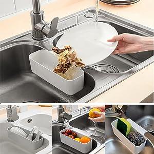 Sink Drain Strainer Basket HDYA Kitchen Food Waste Leftovers Food Catcher