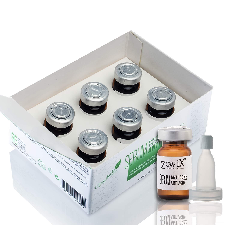 Serum Anti Acne. Serum avec Acid Salicylic. Serum bio, reduit comedones, points noir. Traitment anti acne. Testez-le et oublie les grains. En finir avec vos problèmes d'acné. 60 ml. ZOWIX