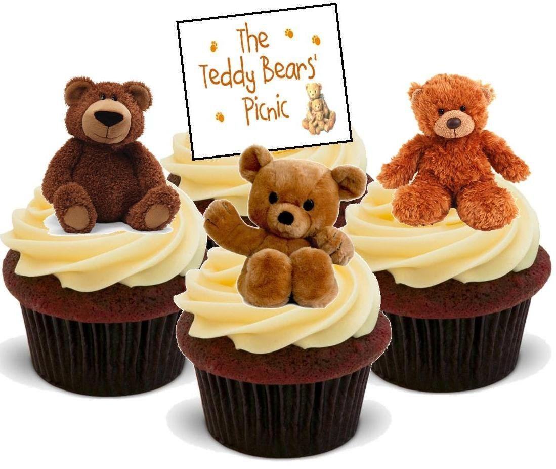 Amazon.com: Cute Teddy Bears Picnic Mix - Fun Novelty Birthday ...