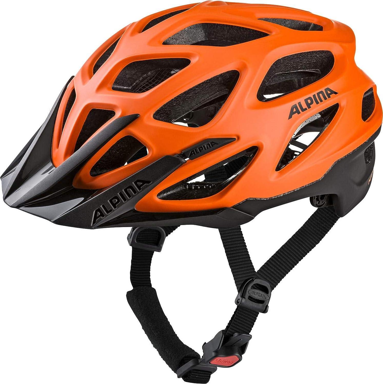 ALPINA Mythos 3.0 L.E. Fahrradhelm - Orange-schwarz