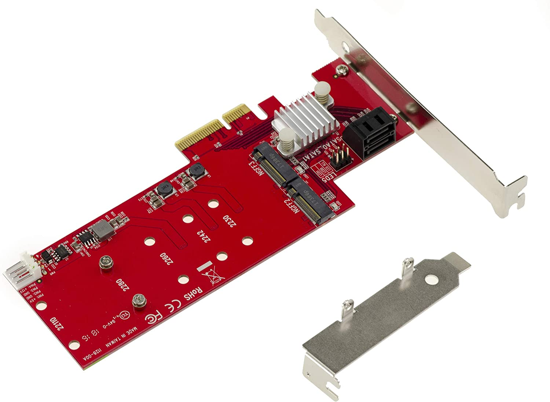 KALEA-INFORMATIQUE – Tarjeta controladora PCIe M.2 NGFF (2 Puertos ...