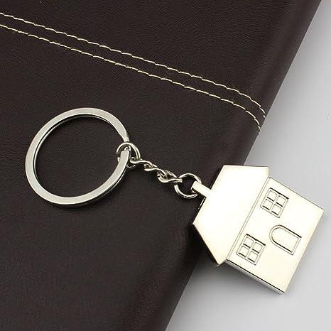 Amazon.com: 1 llavero de bolsillo pequeño para casa, cálido ...