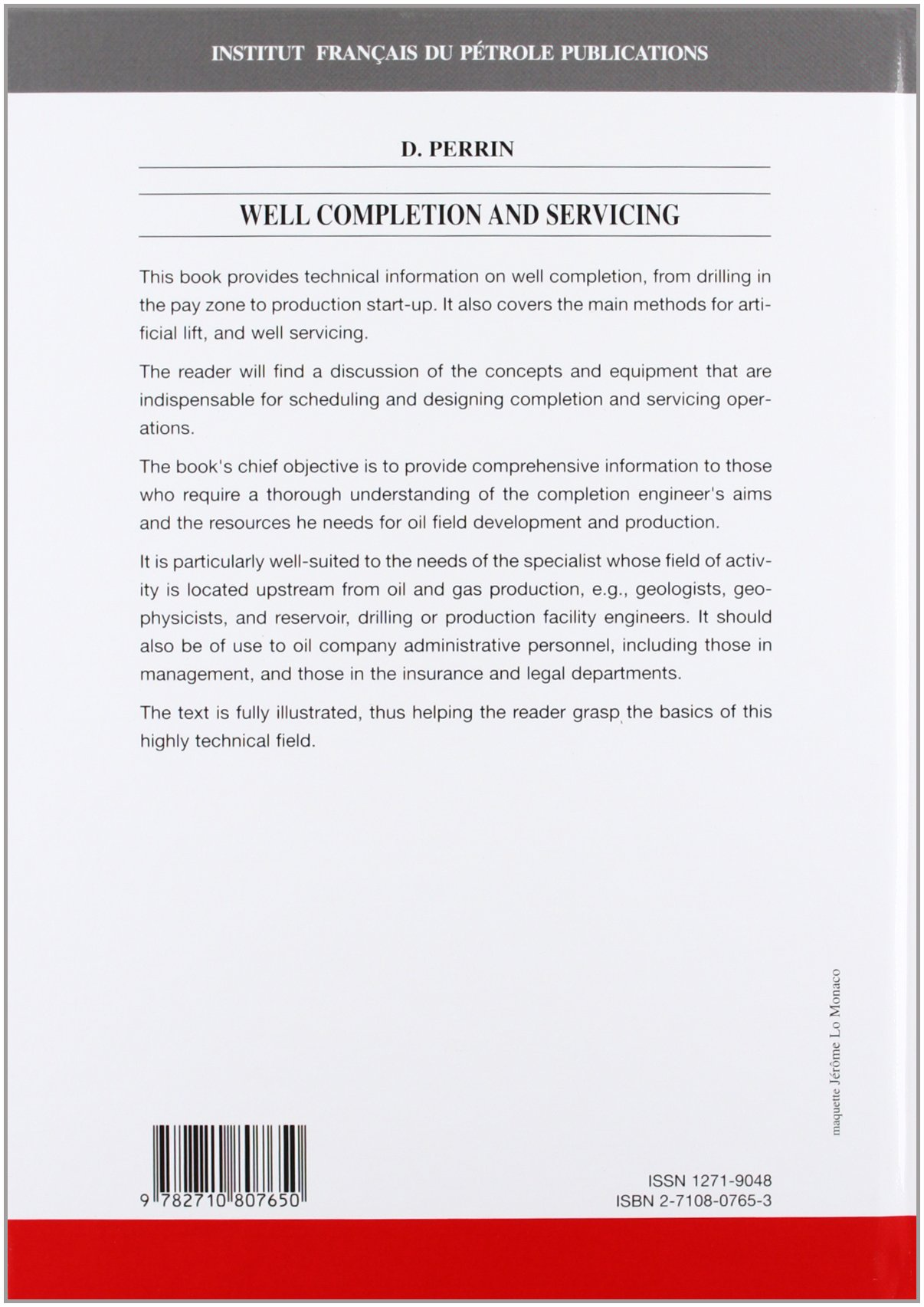 Well Completion and Servicing (Oil and Gas Field Development Techniques):  Denis Perrin: 9782710807650: Amazon.com: Books