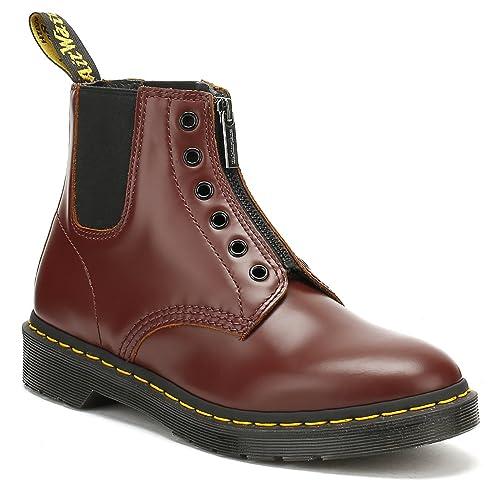 b01d32df Dr. Martens Mens Oxblood Burgundy Vintage 101 GST Boots-UK 7: Amazon.co.uk:  Shoes & Bags