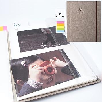 Amazoncom Photo Album Self Adhesive Album With 5 Colors Sticky