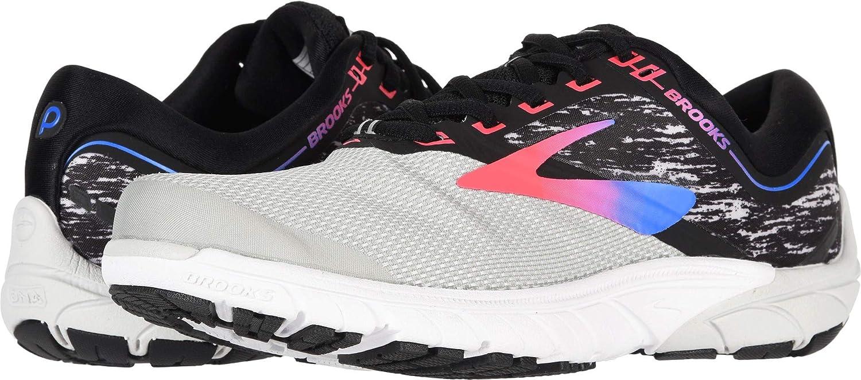 Grey Black Pink Brooks Women's PureCadence 7 Running shoes