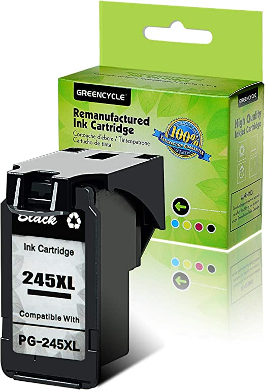Amazon.com: greencycle Cartuchos de tinta Remanufactured PG ...