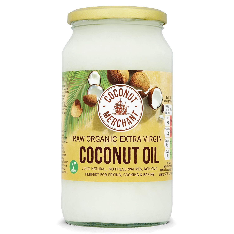 Aceite de coco - 1L Aceite puro de coco virgen extra orgánico