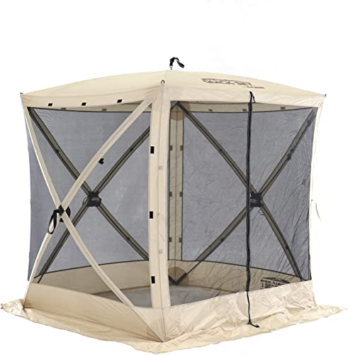 QUICK-SET Traveler 6x6ft. Portable Camping Outdoor Gazebo Canopy Shelter