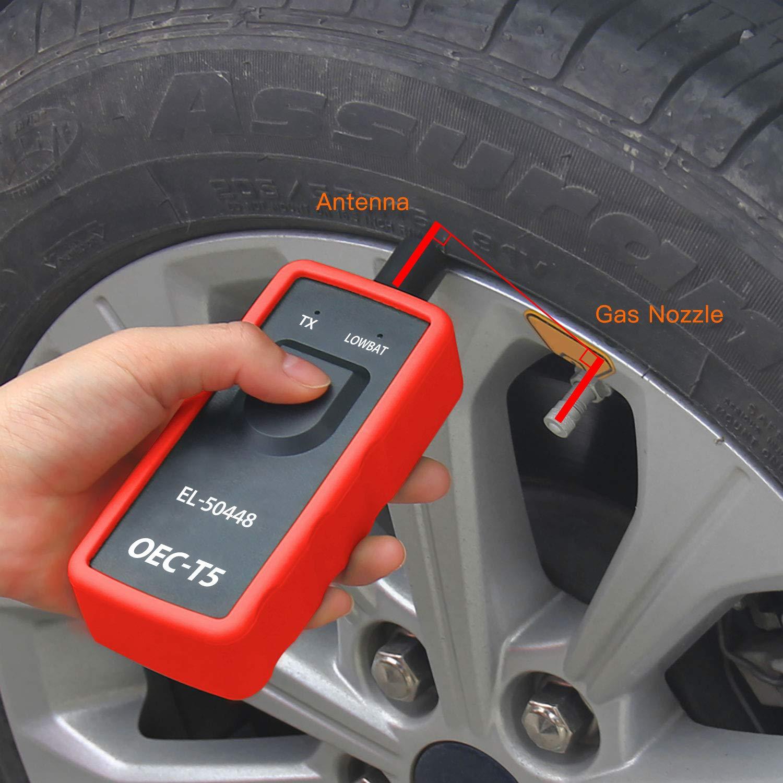 JDiag 50448 Strumento di Reset Pneumatici EL50448 TPMS Sensore di Pressione Pneumatici novit/à per GM Opel TPMS Activation Tool
