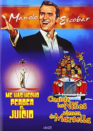 Me has hecho perder el juicio/Cuando los niños virnrn de Marsella DVD: Amazon.es: Manolo Escobar, Juan de Orduña, Jose Luis Sanz de Heredia, Manolo Escobar: Cine y Series TV