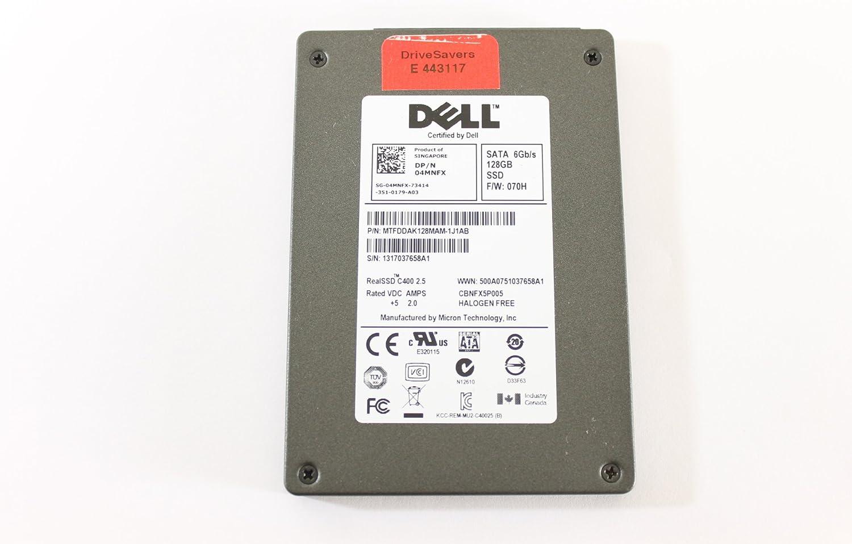 "Dell 4MNFX MTFDDAK128MAM-1J1AB 2.5"" SATA SSD 128GB Micron Laptop Hard Drive Latitude E6230"