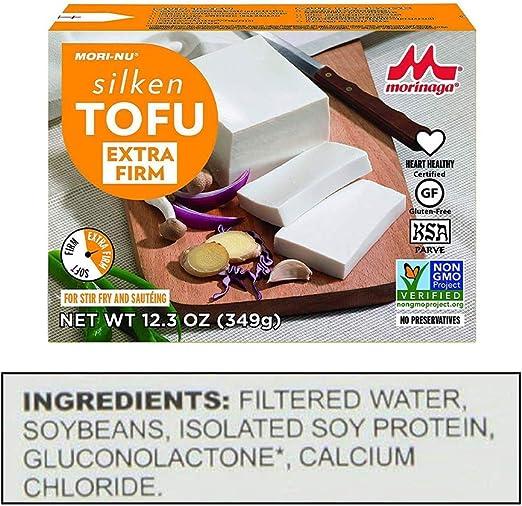 Mori-Nu Tofu, extra firme, 12.3 onzas (caja de 12): Amazon.es ...