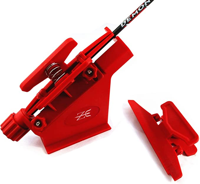 Best Fletching Jigs: MS JUMPPER Adjustable Fletching Jig Straight and Helix Tool