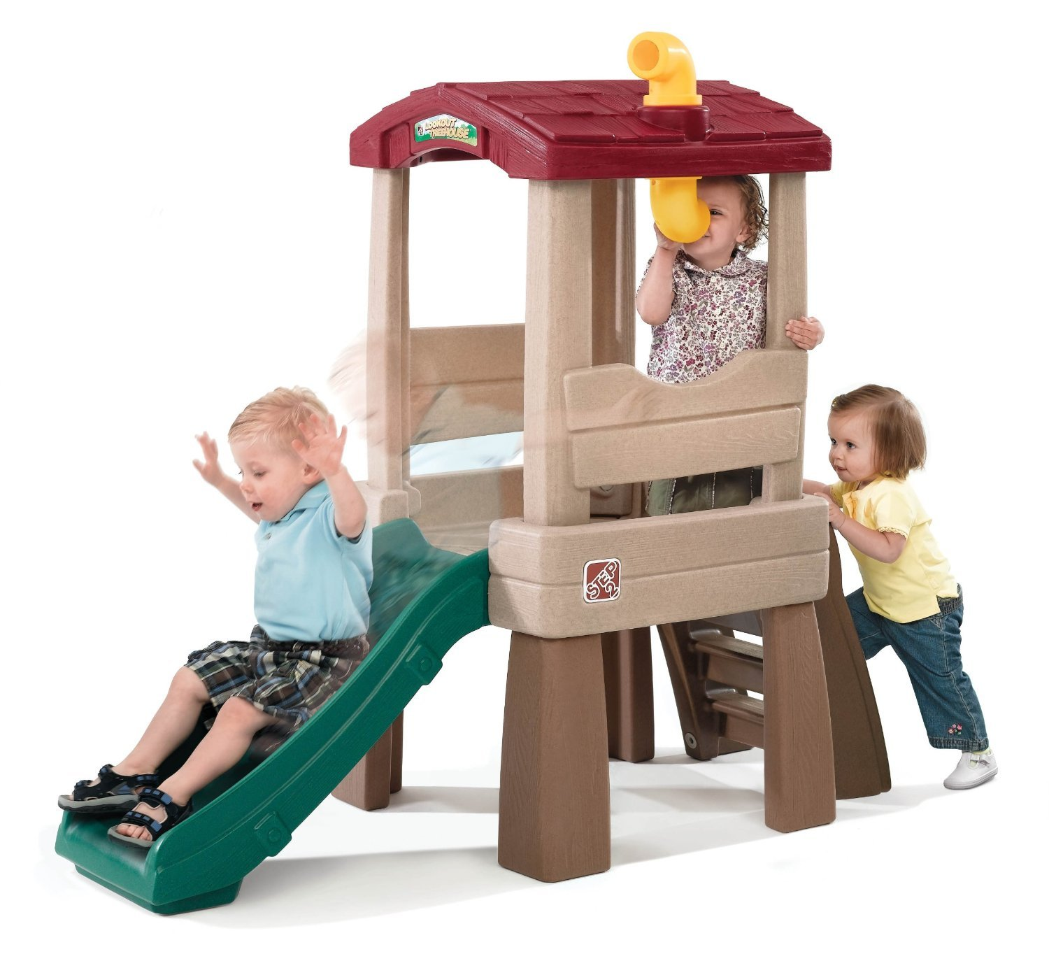 Tot Crawl Climber Slide Ladder Baby Toddler Interactive Play Treehouse Toy Fun by Living Better Now (Image #4)