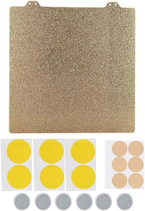Kafuty Impresora 3D Hot Bed Gold Polvo Pei Texturizado de Doble ...