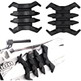 Xilang 2 Pcs Compound Bow Stabilizer Split Limb Damping Rubber Archery Bow Limbs Vibration Damper Dampener Crab Shaped…