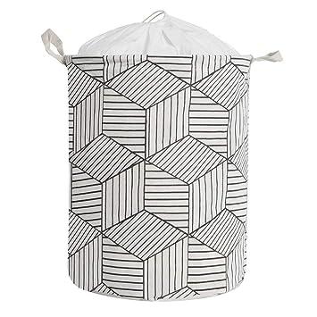 Amazon.com: Cesta de almacenamiento para la colada de tamaño ...