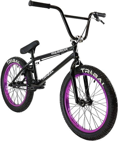 Tribal Warrior - Bicicleta BMX, Color Negro Brillante: Amazon.es: Deportes y aire libre