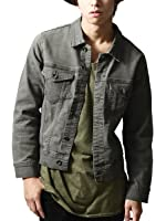 (ジップファイブ) ZIP FIVE スーパーストレッチデニムジャケット/メンズ ファッション D