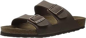 Birkenstock Arizona STONE Birkibuc Sandal - EU Size 40 /Women's US ...