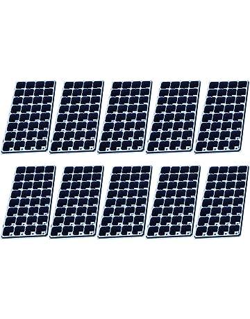 YAKOK Bandejas de Semilleros, 10 Piezas 128-celda Semillero Propagador Bandeja Germinador de Semillas