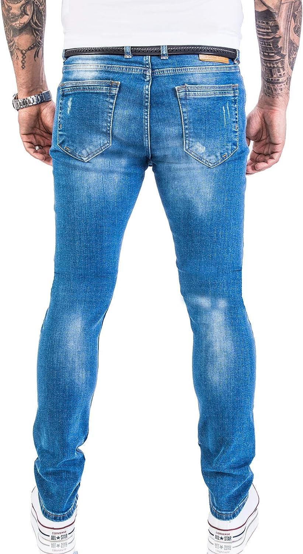 Rock Creek Designer Mens Jeans Pants Stretch Jeans Basic Slim Fit W29-W40 M21