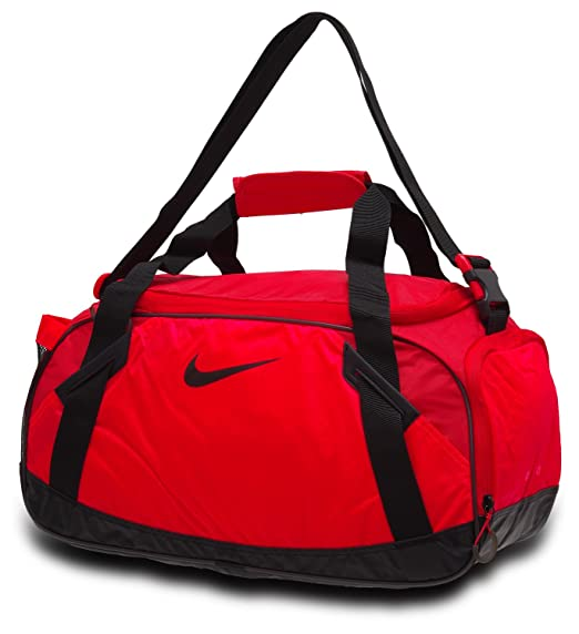 a4c9e34dab16 Image Unavailable. Image not available for. Color  NIKE Varsity Girl 2.0  Medium Sports Bag Duffel Duffle-Coral Black