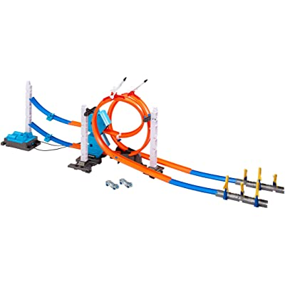 Hot Wheels Track Builder Rocket Edition Power Booster Kit: Toys & Games