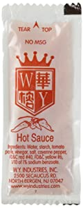 EAST EMPIRE Chinese Chili Hot Sauce, 50 Packets
