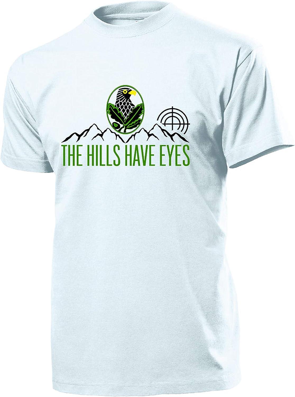 Copytec The Hills Have Eyes Caza Sniper Bundeswehr WH Nadadores Soldado Militar Camisa Montaña Sagitario – Camiseta # 11086: Amazon.es: Ropa y accesorios