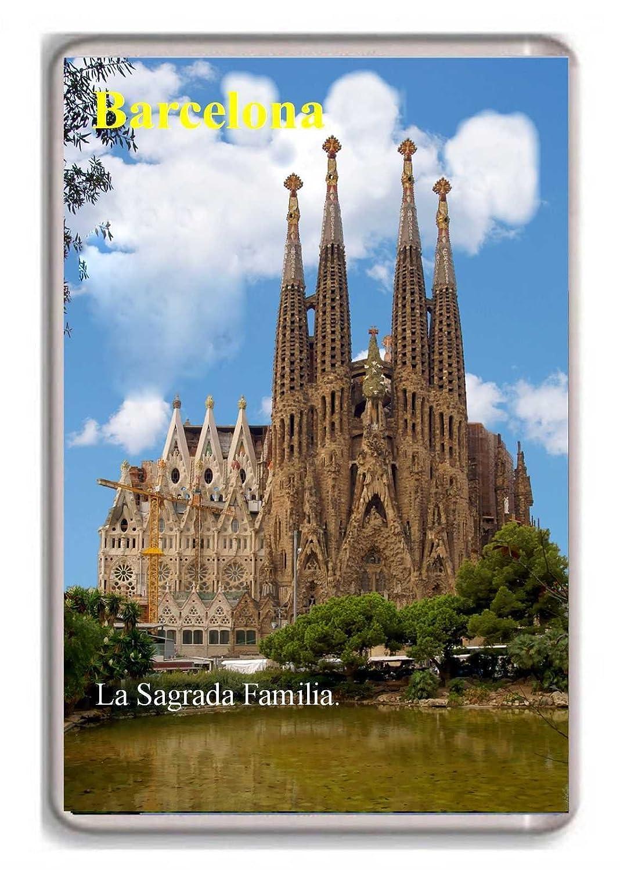 Barcelona/Sagrada Familia/Nevera/Imán: Amazon.es: Hogar