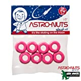 Grn Mnstr Astronuts Nylon Axle Nuts (Set of 8) - Pink