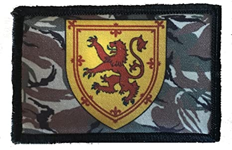Scotland Rampant Lion Morale Patch. Perfect for your Tactical Military Army  Gear 6f5cc8f14f44