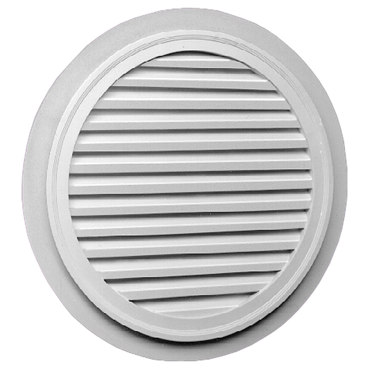 Fypon FRLV32-2F Functional 32''W x 32''H Round Louver with 2'' Trim